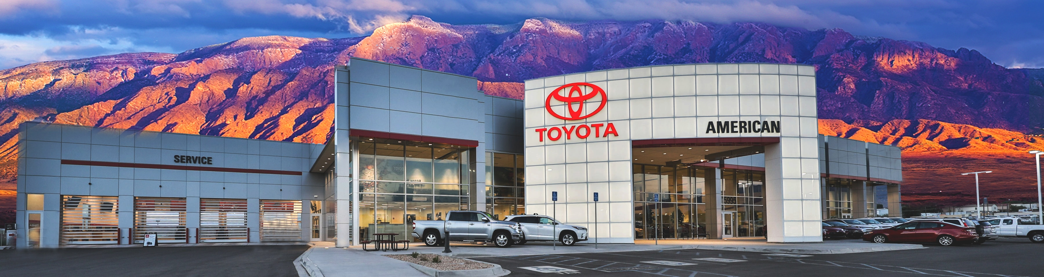 American Toyota Dealership