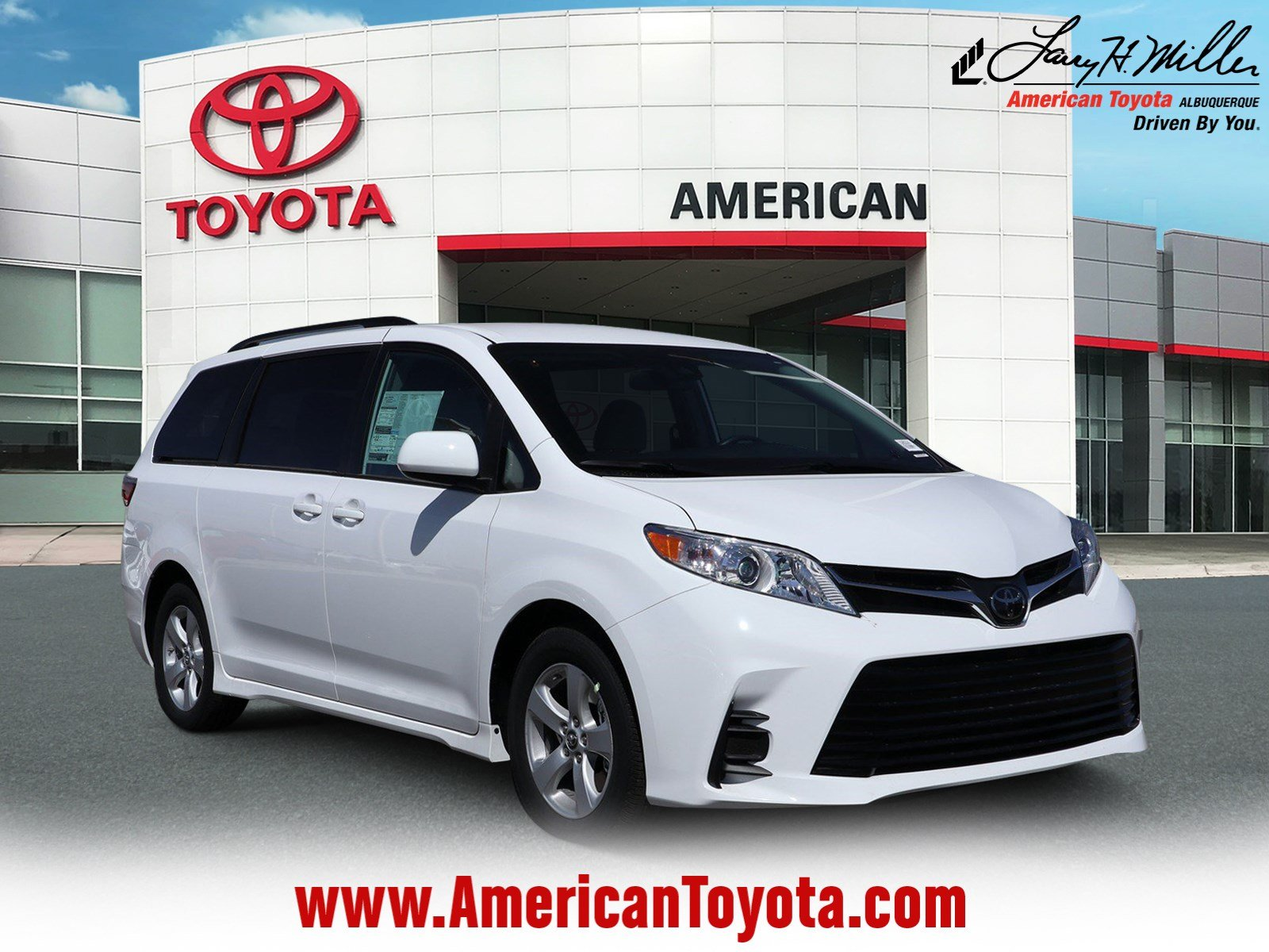 Featured 2019 Toyota Sienna LE 8 Passenger Van for sale near you in Albuquerque, NM