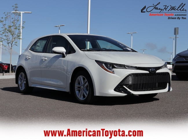 New 2019 Toyota Corolla Hatchback SE Hatchback for sale in Albuquerque, NM