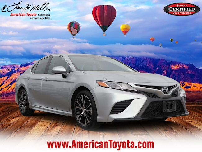 Certified pre-owned 2018 Toyota Camry LE Sedan for sale in Albuquerque, NM