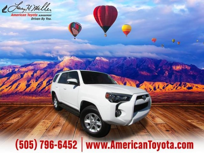Certified pre-owned 2019 Toyota 4Runner SR5 Premium SUV for sale in Albuquerque, NM