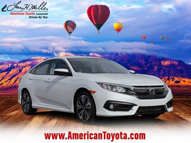 Used 2017 Honda Civic EX-T Sedan for sale in Albuquerque, NM