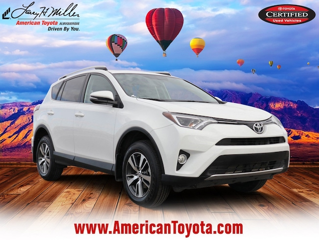 Certified pre-owned 2016 Toyota RAV4 XLE SUV for sale in Albuquerque, NM
