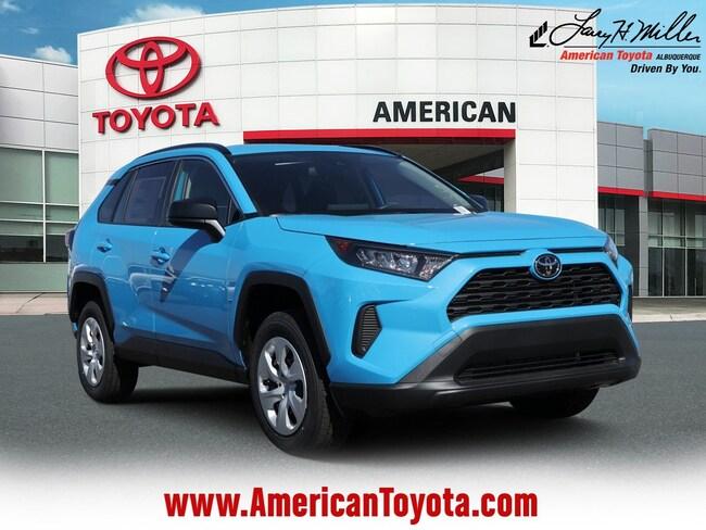 New 2019 Toyota RAV4 LE SUV for sale in Albuquerque, NM