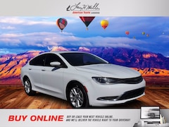 Used 2016 Chrysler 200 Limited Sedan for sale in Albuquerque, NM