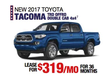 Labor Day Sales Event Toyota Tacoma