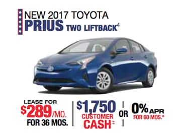 Labor Day Sales Event Toyota Prius