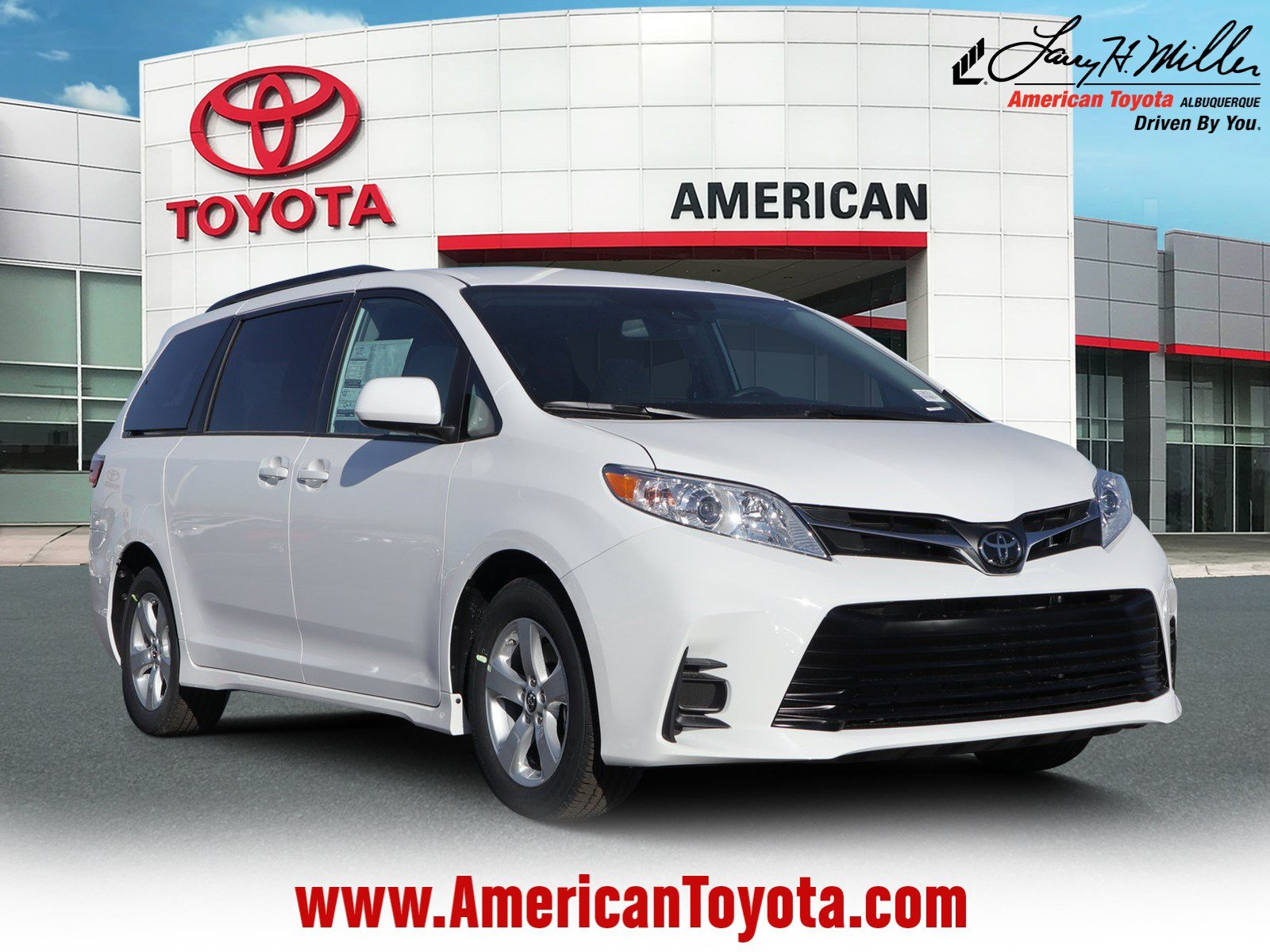 5e2f467fd2 New 2019 Toyota Sienna LE 8 Passenger Van Front-wheel Drive For Sale in  Albuquerque