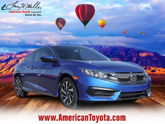 Used 2018 Honda Civic LX Coupe for sale in Albuquerque, NM