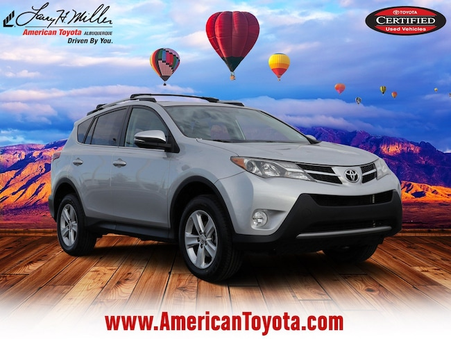 Certified pre-owned 2013 Toyota RAV4 XLE SUV for sale in Albuquerque, NM