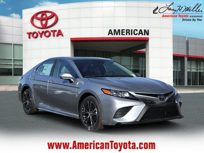 New 2019 Toyota Camry SE Sedan for sale in Albuquerque, NM