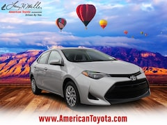 Certified Pre-Owned 2018 Toyota Corolla LE Sedan for sale in Albuquerque, NM