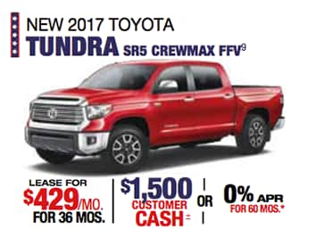 Labor Day Sales Event Toyota Tundra
