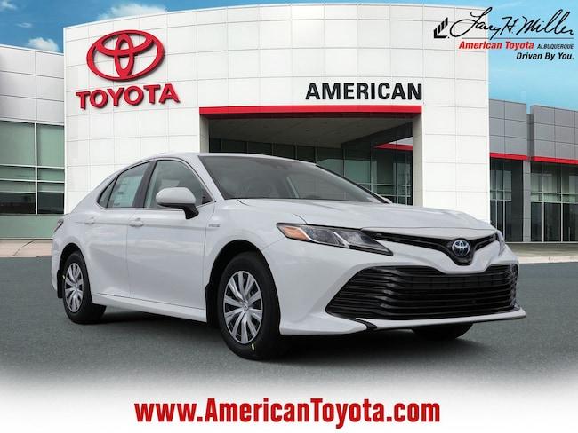 New 2019 Toyota Camry Hybrid LE Sedan for sale in Albuquerque, NM