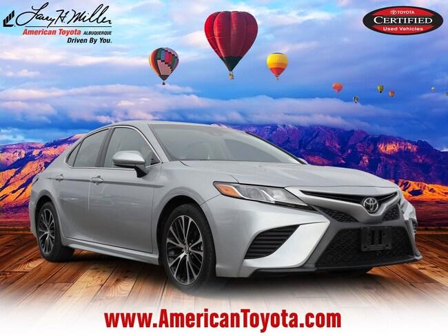 Used 2018 Toyota Camry SE Sedan for sale in Albuquerque, NM