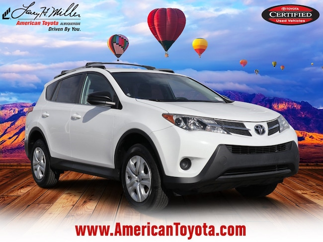 Certified pre-owned 2015 Toyota RAV4 LE (A6) SUV for sale in Albuquerque, NM