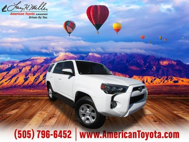 Certified pre-owned 2019 Toyota 4Runner SR5 SUV for sale in Albuquerque, NM