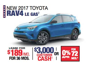 Labor Day Sales Event Toyota