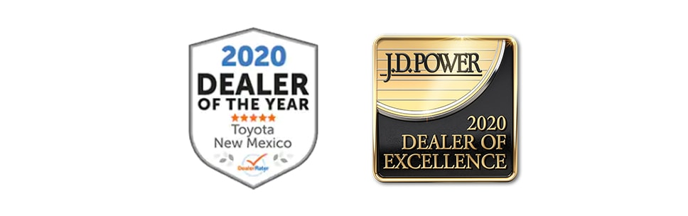 Larry H. Miller Toyota Albuquerque Awards