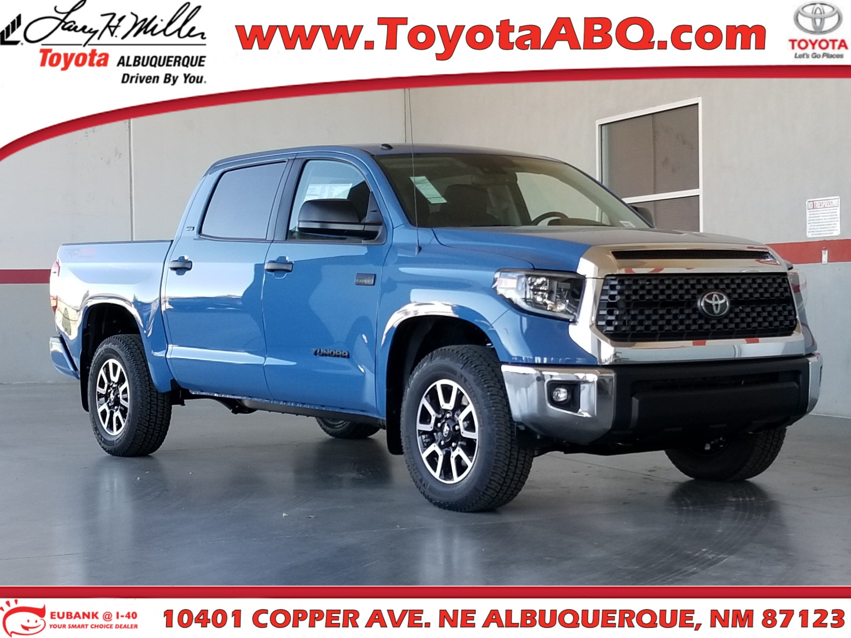 Featured New 2019 Toyota Tundra SR5 5.7L V8 Truck CrewMax for sale near you in Albuquerque, NM