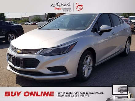 Featured Pre-Owned 2016 Chevrolet Cruze LT Auto Sedan for sale near you in Albuquerque, NM