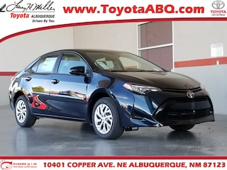 New 2019 Toyota Corolla LE Sedan for sale near you in Albuquerque, NM