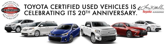 Certified Used Toyota >> Albuquerque Toyota Certified Used Vehicles