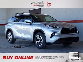 New 2021 Toyota Highlander XLE SUV for sale near you in Albuquerque, NM