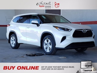New 2021 Toyota Highlander L SUV for sale near you in Albuquerque, NM