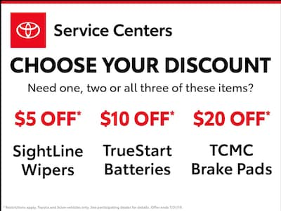 Discount Toyota Parts >> Albuquerque Toyota Parts Discounts Coupons From Lh Miller