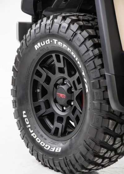TRD Pro Wheels