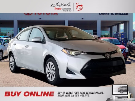 Featured Pre-Owned 2017 Toyota Corolla LE Sedan for sale near you in Albuquerque, NM