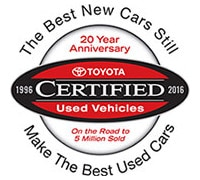 Certified Pre-Owned Toyota Albuquerque