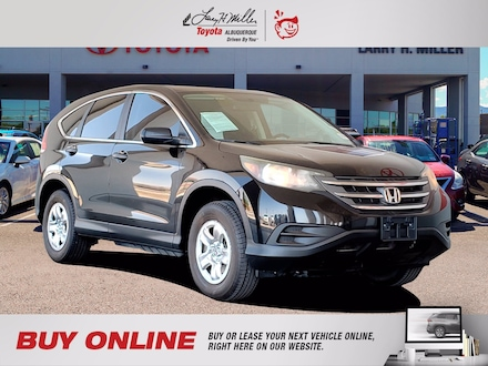 Featured Pre-Owned 2012 Honda CR-V LX SUV for sale near you in Albuquerque, NM