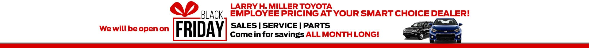 Black Friday Specials Toyota Albuquerque