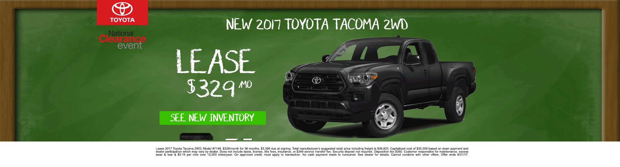 Toyota Tundra Lease Special