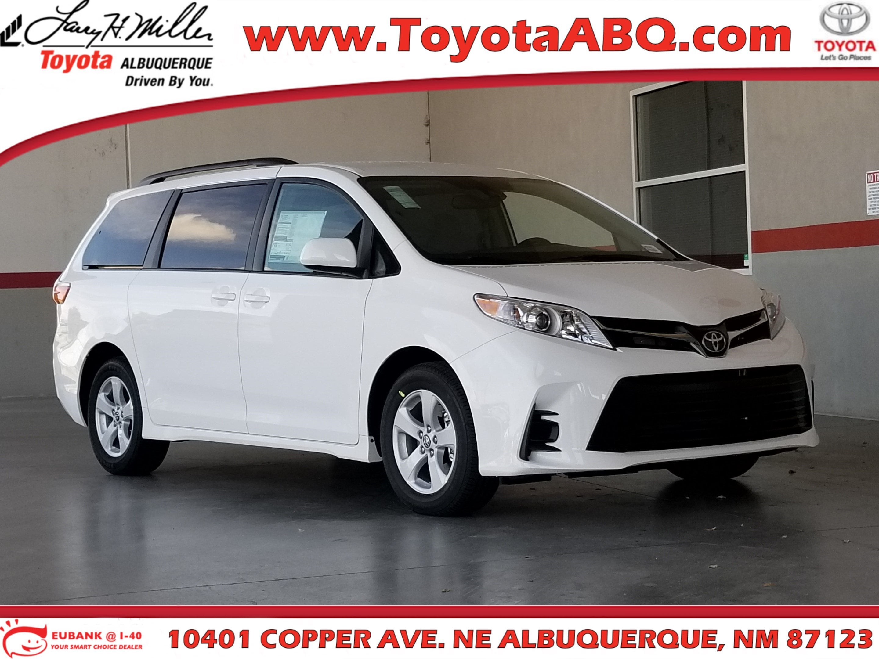 Featured New 2019 Toyota Sienna LE 8 Passenger Van for sale near you in Albuquerque, NM