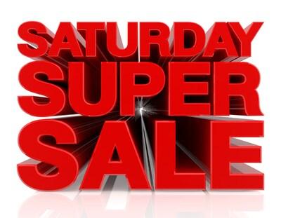 Saturday Savings!