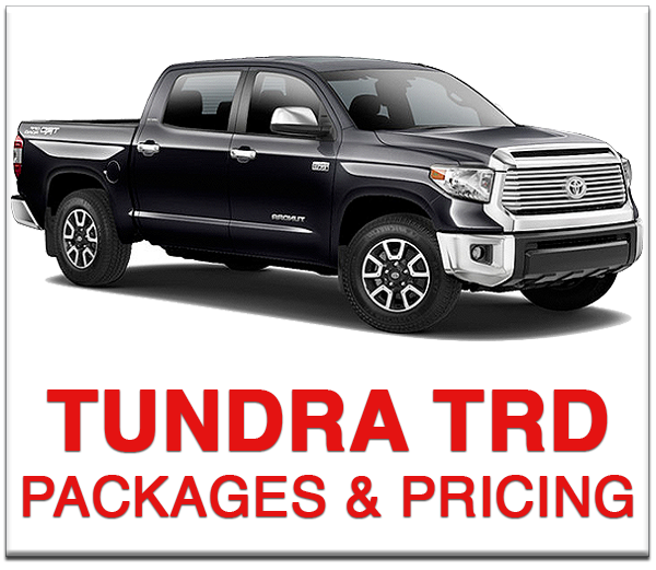 Boulder Toyota Tundra TRD Pro Packages