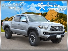 New 2019 Toyota Tacoma TRD Off Road V6 Truck Double Cab for sale near Boulder