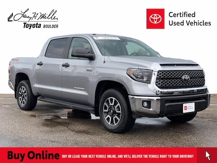 Featured Used 2019 Toyota Tundra SR5 5.7L V8 Truck CrewMax for sale near you in Boulder, CO