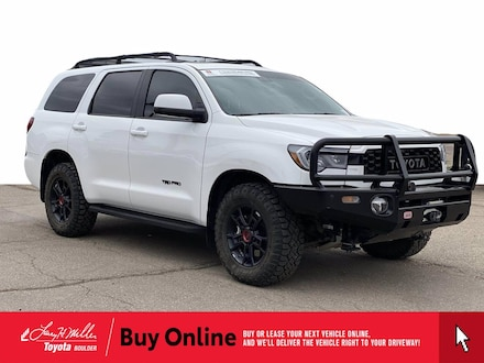 Featured Used 2020 Toyota Sequoia TRD Pro SUV for sale near you in Boulder, CO