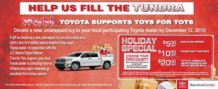 Toys For Tots Drop Off Toyota Boulder