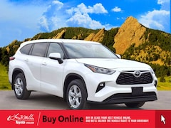 New 2020 Toyota Highlander LE SUV for sale near you in Boulder, CO