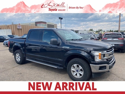 Featured Used 2018 Ford F-150 Truck SuperCrew Cab for sale near you in Boulder, CO