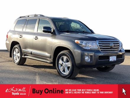 Featured Used 2013 Toyota Land Cruiser V8 SUV for sale near you in Boulder, CO