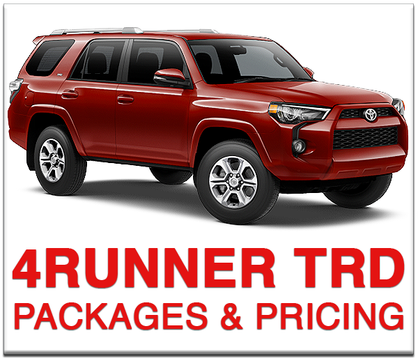 Boulder Toyota 4Runner TRD Pro Packages