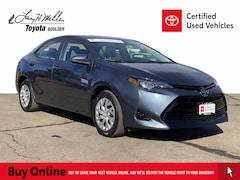 Used 2018 Toyota Corolla LE Sedan for sale near you in Boulder, CO