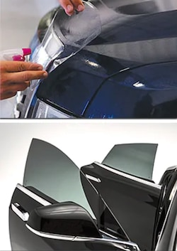 Window Tint & Clear Bra