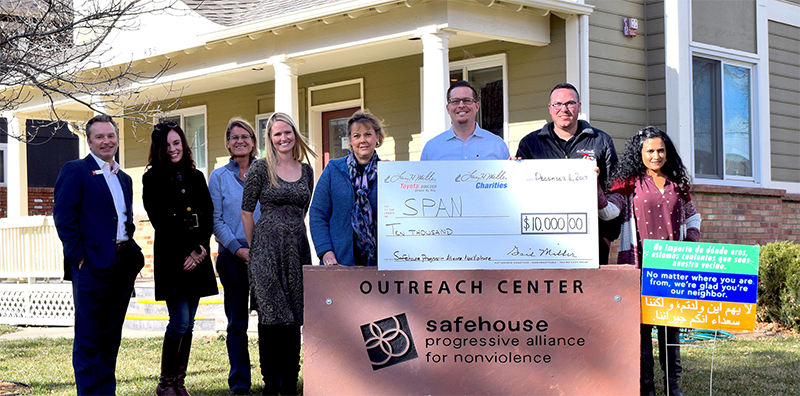 Safehouse Boulder donation